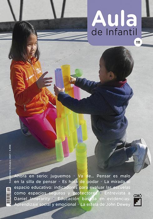 Portada de la Revista Aula de Infantil, 111, septiembre 2021