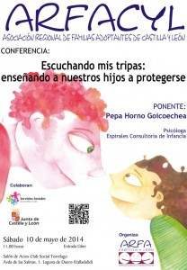 cartel conferencia Pepa Horno may2014 A4